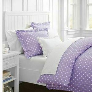Pottery Barn Dottie Set Queen Duvet Pillowcases